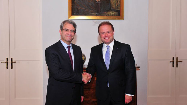 Top-level delagation from Nestlé calls on PM Joseph Muscat